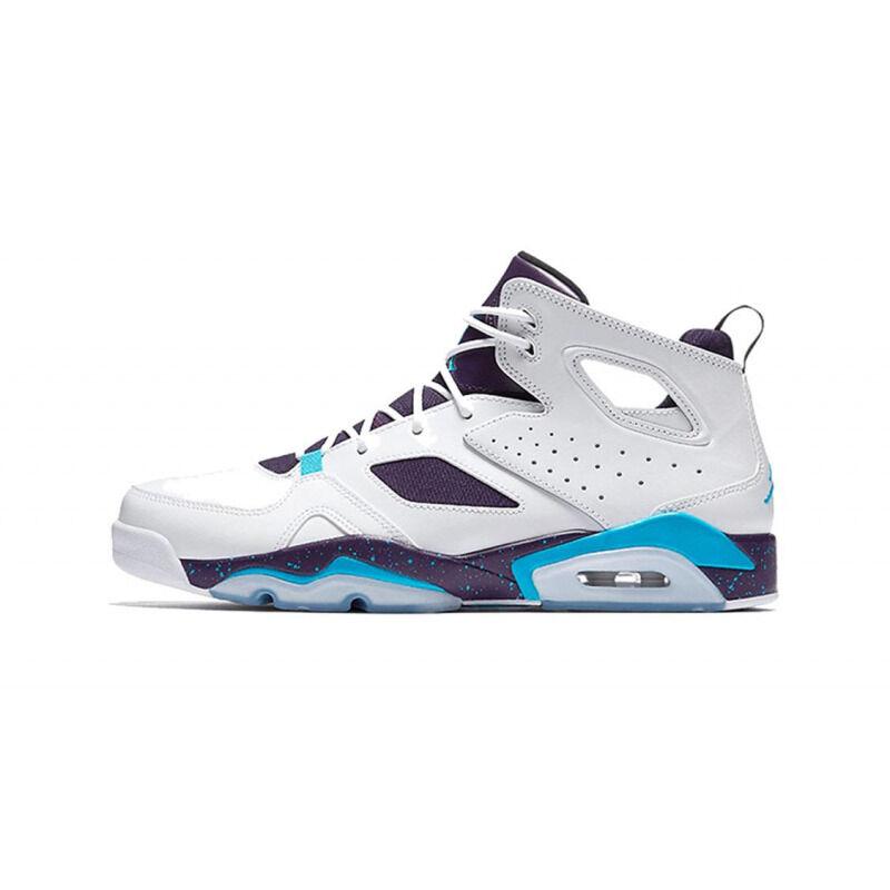 Jordan Flight Club '91'Grand Purple Blue Lagoon' BG White/Blue Lagoon/Grand Purple 籃球鞋/運動鞋 (555472-105) 海外預訂