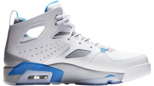Jordan Flight Club 'Photo Blue' White/Photo Blue-Wolf Grey 籃球鞋/運動鞋 (555475-104) 海外預訂