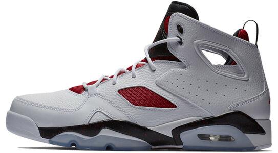 Jordan Fltclb 91 White Black Red 籃球鞋/運動鞋 (555475-121) 海外預訂