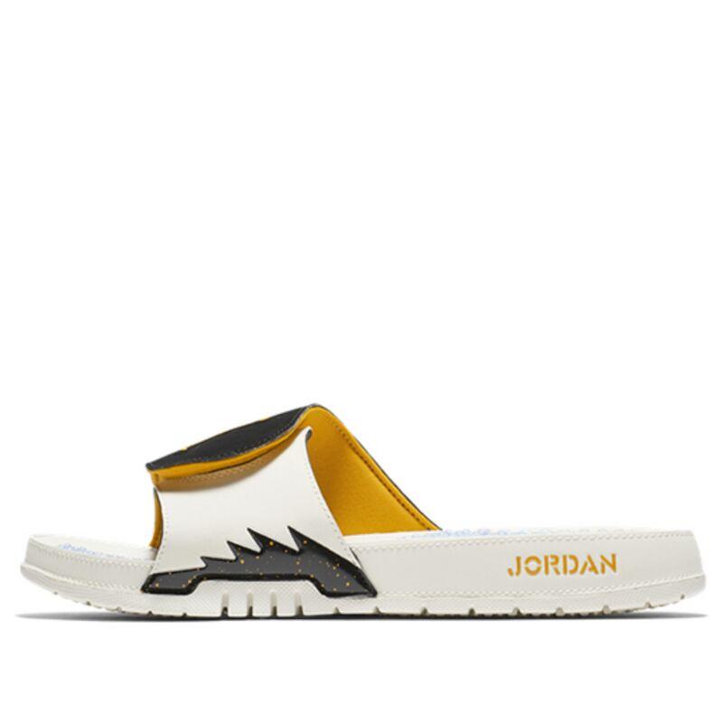 Jordan Hydro V Retro Sail Orange Peel Beach & Pool Slides/Slippers (555501-118) 海外預訂