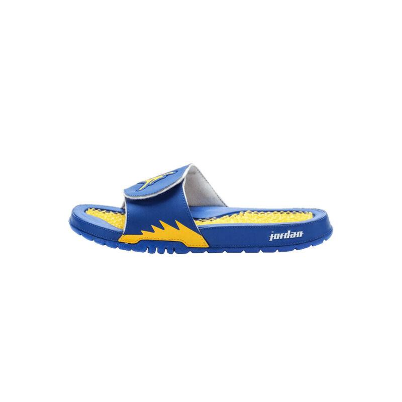 Jordan Hydro 5 Retro Slides 'Game Royal' Game Royal/White-Varsity Maize Beach & Pool Slides/Slippers (555501-489) 海外預訂