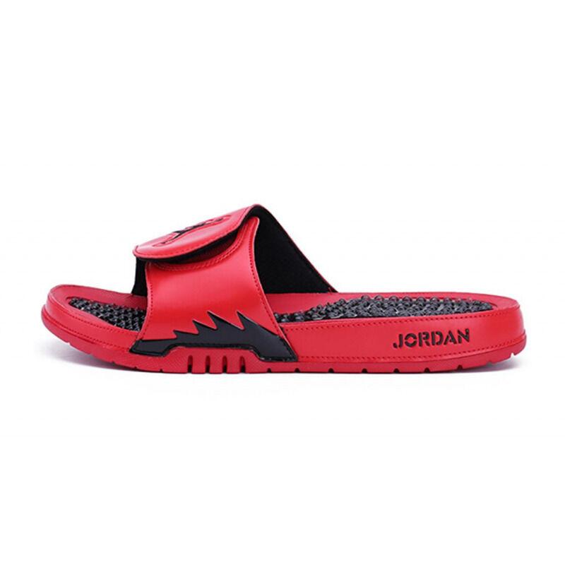 Jordan Hydro 5 Slide 'Red Black' Red/Black Beach & Pool Slides/Slippers (555501-601) 海外預訂