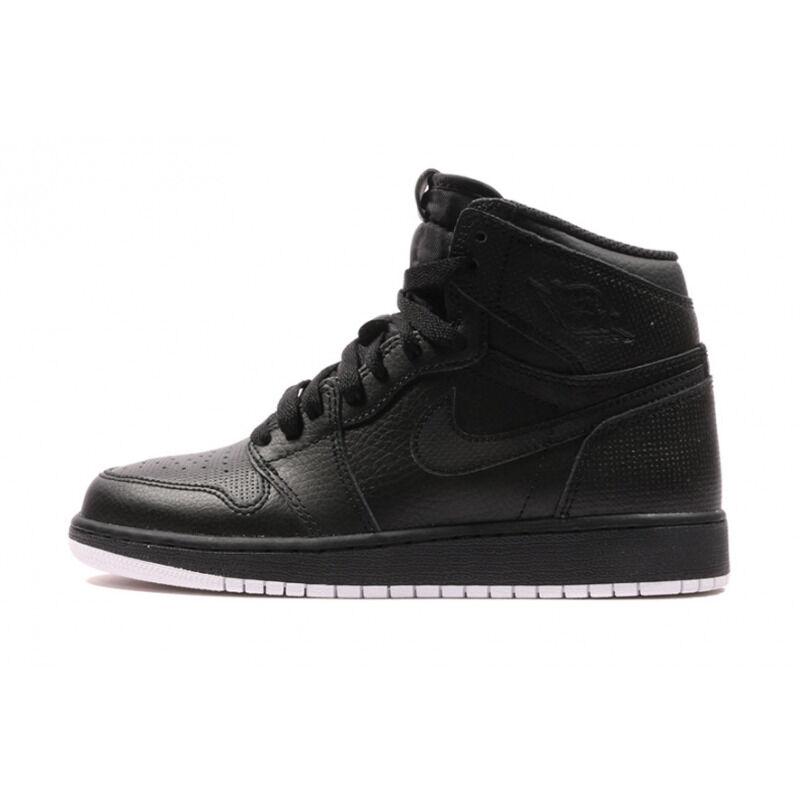 Air Jordan 1 Retro High BG Perforated Pack - Black 籃球鞋/運動鞋 (575441-002) 海外預訂