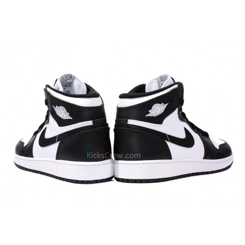 Air Jordan 1 High OG BG Black White 籃球鞋/運動鞋 (575441-010) 海外預訂