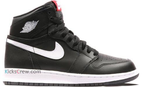Air Jordan 1 Retro High BG Yin Yang Pack - Black 籃球鞋/運動鞋 (575441-011) 海外預訂