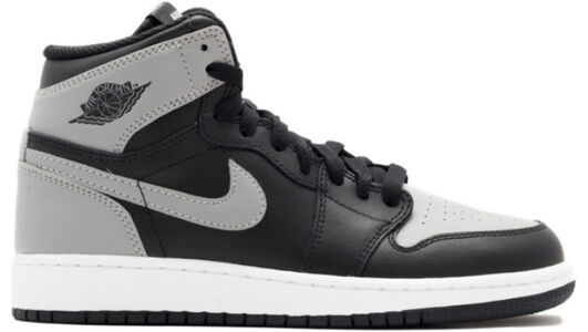 Air Jordan 1 Retro High OG'Shadow' GS Black/Soft Grey 籃球鞋/運動鞋 (575441-014) 海外預訂