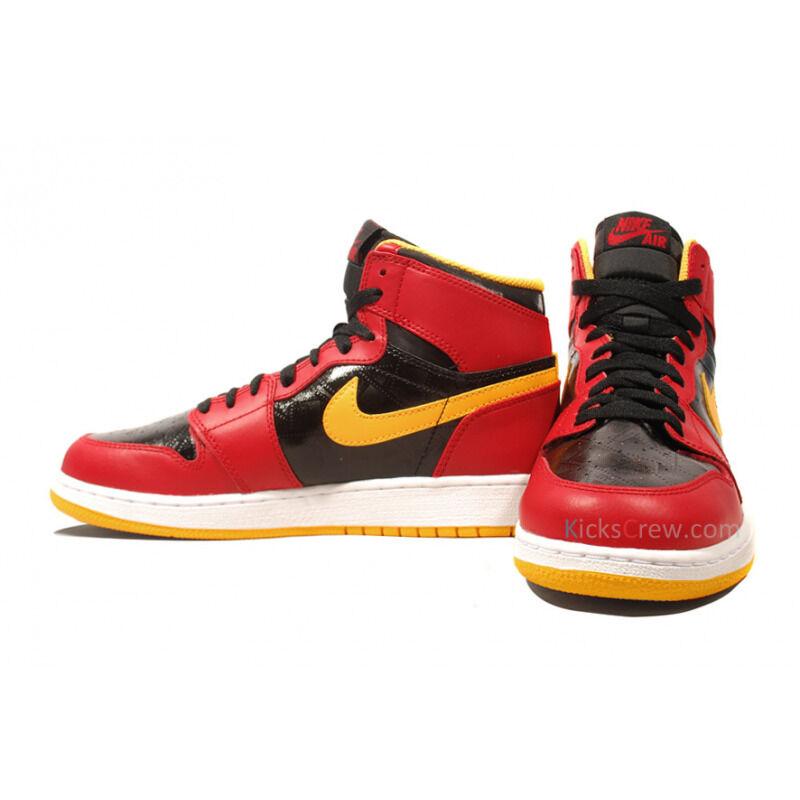 Air Jordan 1 Retro High GS Black Gym Red Gold 籃球鞋/運動鞋 (575441-017) 海外預訂