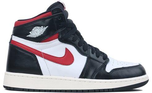 Air Jordan 1 Retro High OG GS Black Gym Red 籃球鞋/運動鞋 (575441-061) 海外預訂