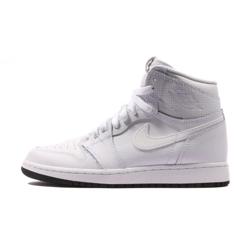Air Jordan 1 Retro High OG BG Perforated Pack - White 籃球鞋/運動鞋 (575441-100) 海外預訂