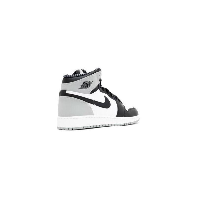 Air Jordan 1 Retro High OG'Barons' BG White/Black-Wolf Grey 籃球鞋/運動鞋 (575441-104) 海外預訂