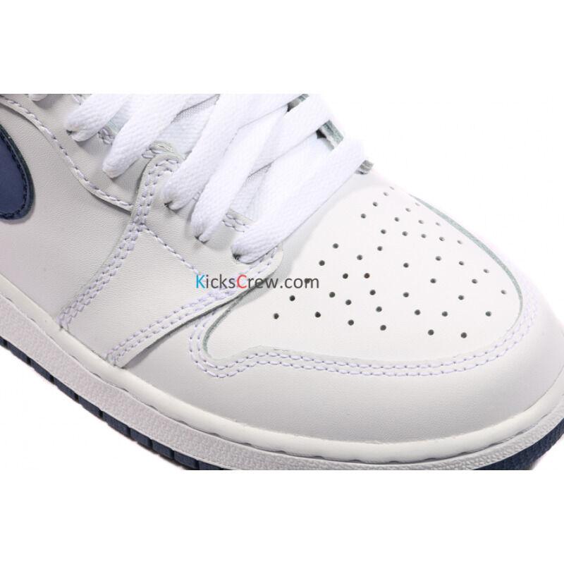 Air Jordan 1 Retro OG BG Metallic Navy 籃球鞋/運動鞋 (575441-106) 海外預訂