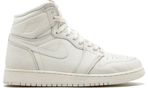 Air Jordan 1 RETRO High OG BG SAIL/UNIVERSITY Red 籃球鞋/運動鞋 (575441-114) 海外預訂