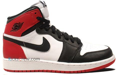 Air Jordan 1 Retro High GS Black Toe 籃球鞋/運動鞋 (575441-184) 海外預訂
