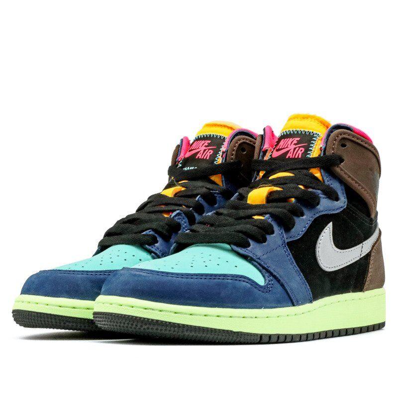Air Jordan 1 Retro High OG GS Tokyo Bio Hack 籃球鞋/運動鞋 (575441-201) 海外預訂