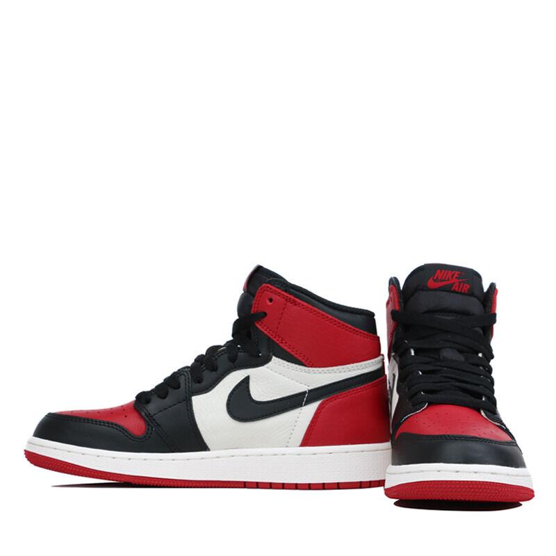 Air Jordan 1 Retro High OG BG Bred Toe 籃球鞋/運動鞋 (575441-610) 海外預訂