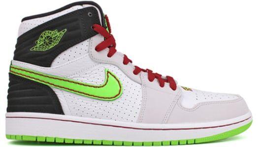 Air Jordan 1 Retro '93 'Electric Green White/Electric Green-Black-Neutral Grey 籃球鞋/運動鞋 (580514-150) 海外預訂
