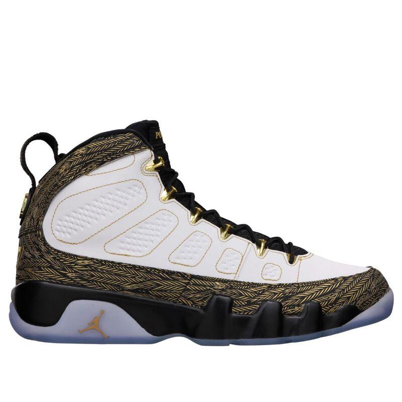 Air Jordan 9 Retro DB 'Doernbecher' White/Metallic Gold-Black 籃球鞋/運動鞋 (580892-170) 海外預訂