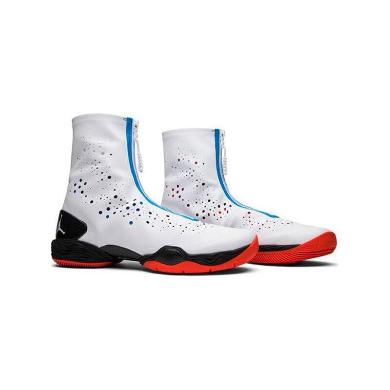 Air Jordan 28 'Westbrook OKC Home' White/White/Black/Photo Blue 籃球鞋/運動鞋 (584831-117) 海外預訂