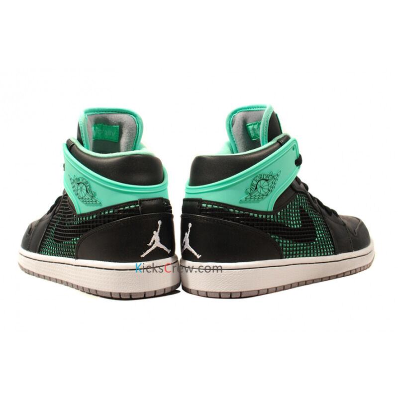Air Jordan 1 Retro 89 Black Green Glow 籃球鞋/運動鞋 (599873-033) 海外預訂
