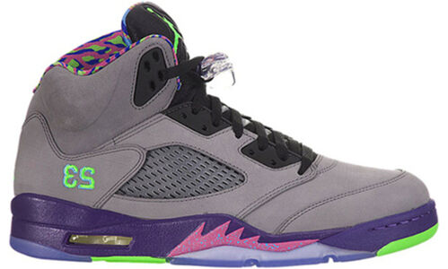 Air Jordan 5 Retro 'Bel Air' Cool Grey/Club Pink-Court Purple-Game Royal 籃球鞋/運動鞋 (621958-090) 海外預訂