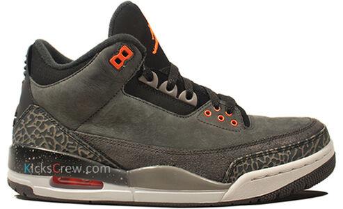 Air Jordan 3 Retro Fear Pack 籃球鞋/運動鞋 (626967-040) 海外預訂