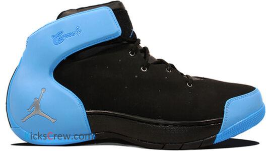 Jordan Melo 1.5 Black University Blue 籃球鞋/運動鞋 (631310-007) 海外預訂