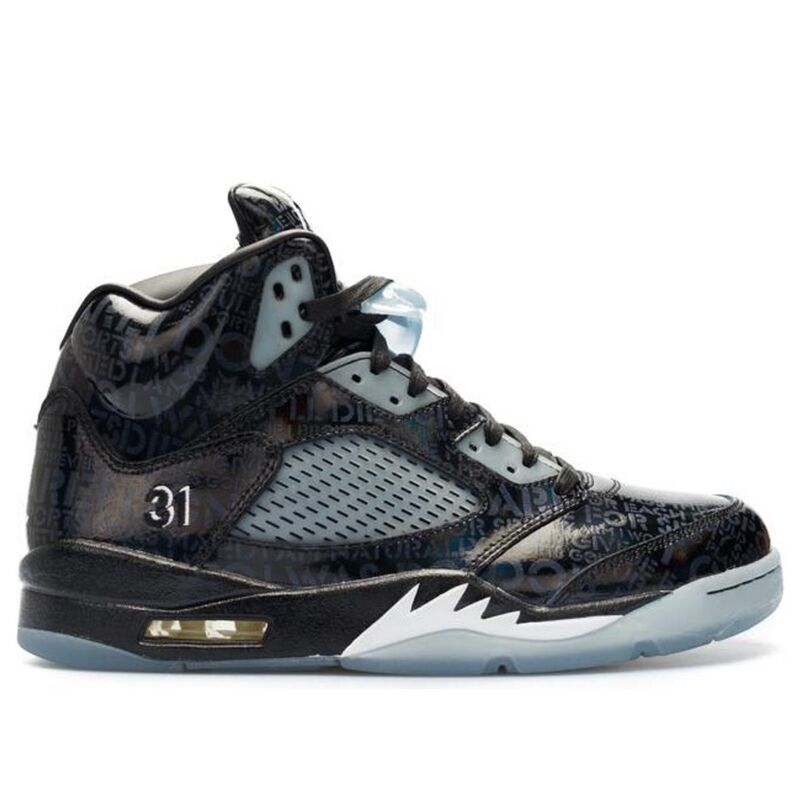 Air Jordan 5 Retro DB 'Doernbecher' Black/White-Black 籃球鞋/運動鞋 (633068-010) 海外預訂