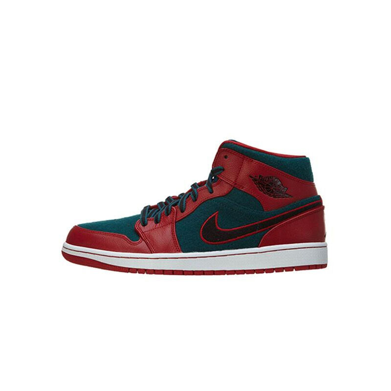 Air Jordan 1 Mid Gym Red Dark Sea 籃球鞋/運動鞋 (633206-608) 海外預訂