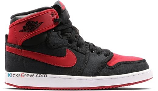 Air Jordan 1 KO High OG Bred 籃球鞋/運動鞋 (638471-001) 海外預訂