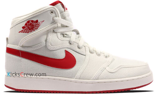 Air Jordan 1 KO High OG Sail Varsity Red 籃球鞋/運動鞋 (638471-102) 海外預訂