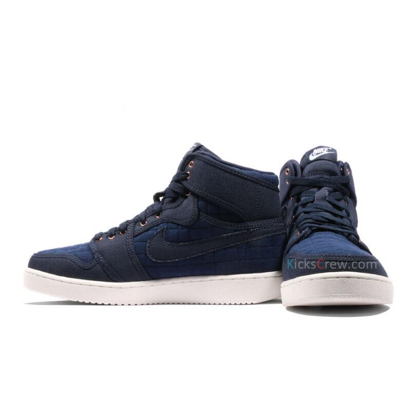 Air Jordan 1 KO High OG Navy Canvas 籃球鞋/運動鞋 (638471-403) 海外預訂