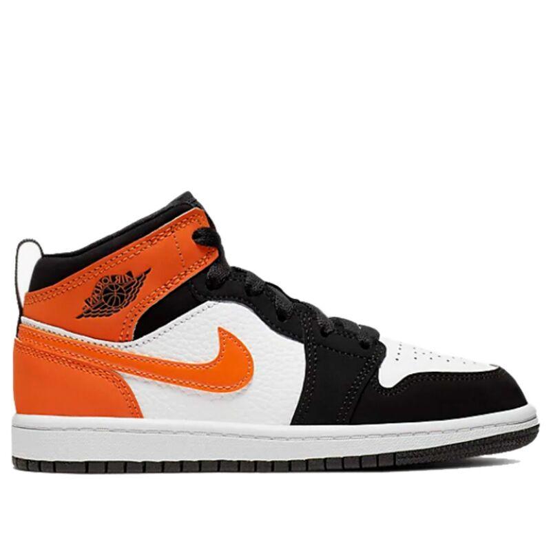 Air Jordan 1 Mid PS 'Shattered Backboard' Black/Starfish/Starfish/White 籃球鞋/運動鞋 (640734-058) 海外預訂