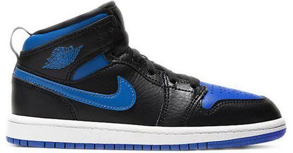 Jordan 1 Mid PS 'Royal' 2020 Black/Hyper Royal/White 籃球鞋/運動鞋 (640734-068) 海外預訂