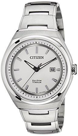 Citizen AW1251-51A 光動能男裝鏈帶手錶