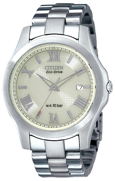 Citizen BM6165-59B 光動能男裝鏈帶手錶