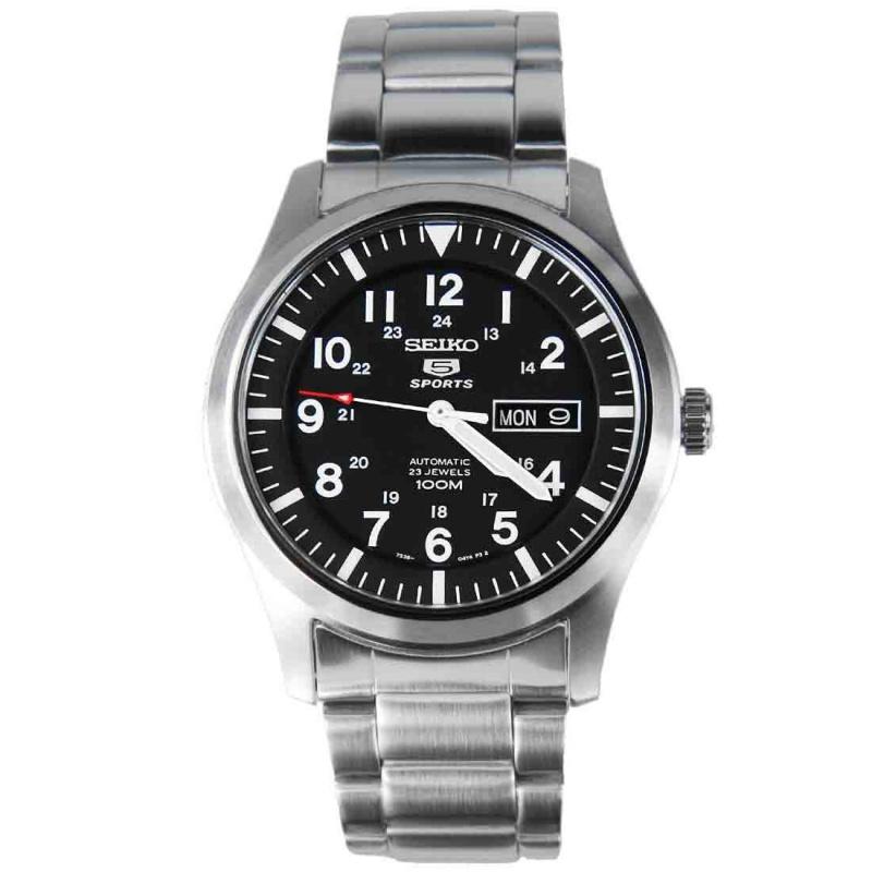 Seiko 5自動機械 SNZG13K1 鋼帶男裝手錶
