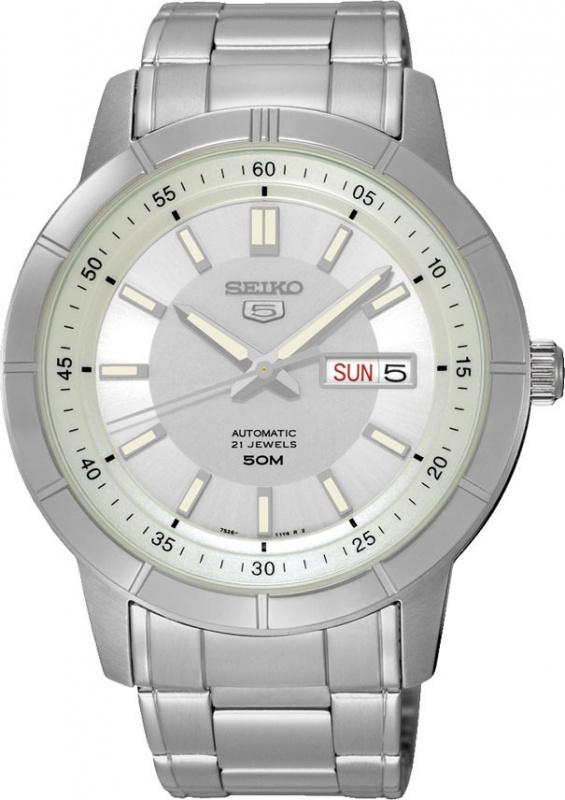 Seiko 5自動機械 鋼帶男裝手錶 [5款]