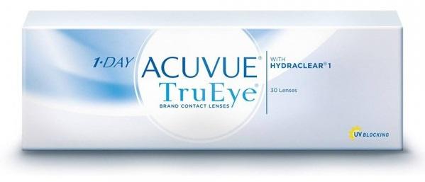 1-Day Acuvue Trueye 每日拋棄型隱形眼鏡 [2盒優惠]