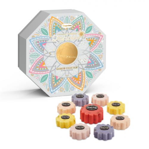 Häagen-Dazs™ Rainbow Collection 彩花‧盈月 雪糕月餅禮券