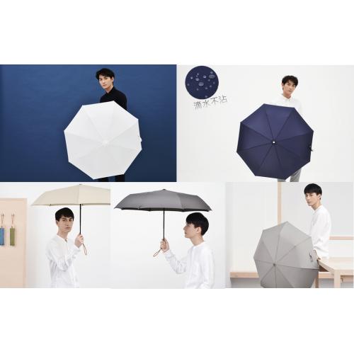 Tiohoh 滴水不沾三折摺疊雨傘 [5色]