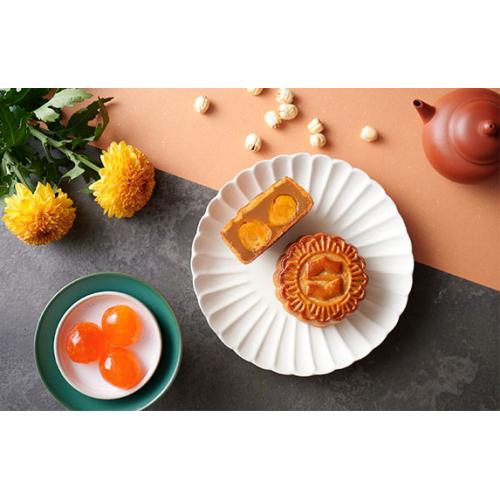 九龍香格里拉大酒店 - 雙黃白蓮蓉月餅禮劵 (4個裝)