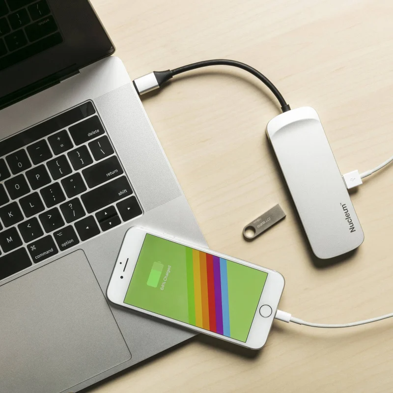 Kingston Nucleum USB-C 集線器