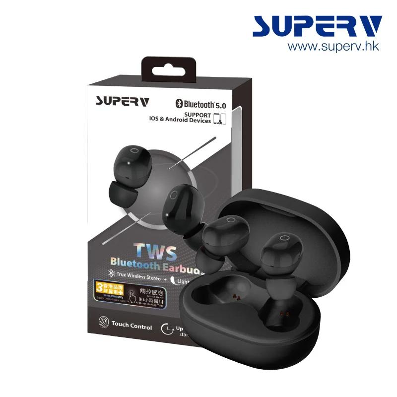 SuperV i58 TWS 真無線觸控式藍牙5.0耳機 [5色]