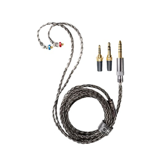 FiiO LC-RC 高純度單晶銅鍍銀 可換插頭耳機升級線