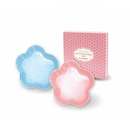 Le Creuset 19cm Flower Plate [2pcs]【恒生限定】