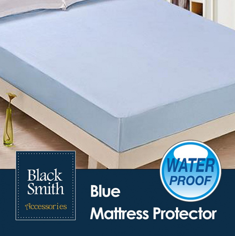Black Smith 高透氣純綿防菌防水床笠及枕頭套套裝 [4色][多個尺寸]