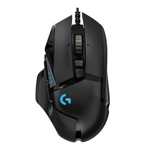 Logitech G502 Hero 高效能遊戲滑鼠 [黑色]