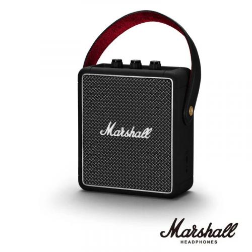 Marshall Stockwell II 攜帶式藍牙喇叭 [黑色]【恒生限定】