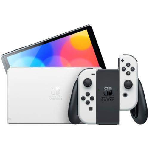 Nintendo Switch OLED 遊戲主機 [2色]【恒生限定】