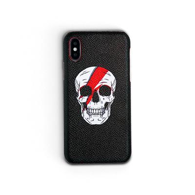 Workshop68 手工iPhone殻 - Struck Skull - iPhone 7+/8+